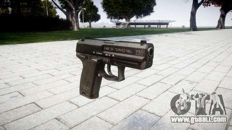 Gun HK USP 40 for GTA 4