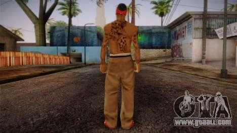 Fresno Buldogs 14 Skin 1 for GTA San Andreas second screenshot