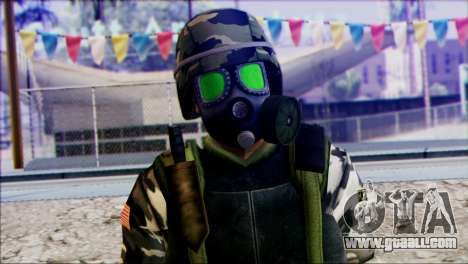 Hecu Soldier 2 from Half-Life 2 for GTA San Andreas third screenshot
