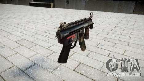 Gun MP5K for GTA 4 second screenshot