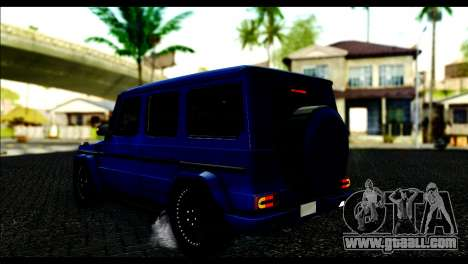 Merсedes-Benz G65 AMG for GTA San Andreas left view