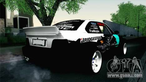 BMW M3 E36 Bridgestone v3 for GTA San Andreas left view
