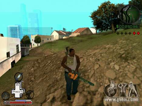 C-HUD Optiwka for GTA San Andreas fifth screenshot