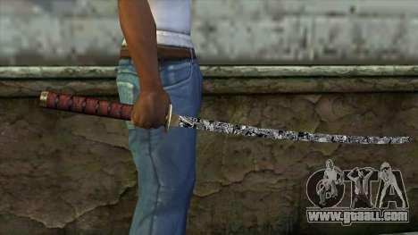 New Katana for GTA San Andreas third screenshot