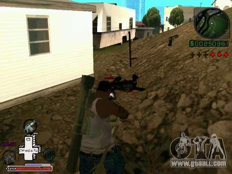 C-HUD Optiwka for GTA San Andreas third screenshot