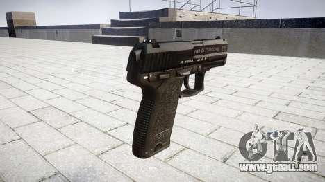 Gun HK USP 40 for GTA 4 second screenshot