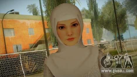 Kebaya Girl Skin v2 for GTA San Andreas third screenshot