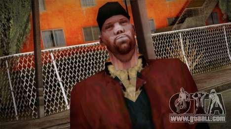 GTA San Andreas Beta Skin 16 for GTA San Andreas third screenshot