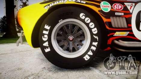 AC Cobra 427 PJ2 for GTA 4 back view