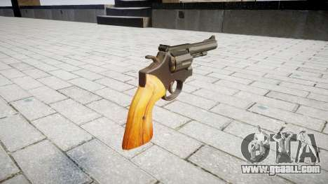 Revolver Smith & Wesson for GTA 4 second screenshot