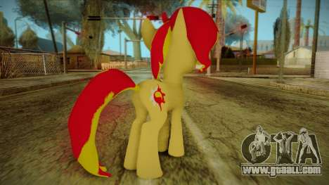 Summer Shimmer from My Little Pony for GTA San Andreas second screenshot