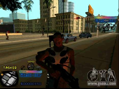 C-HUD Ghetto Star for GTA San Andreas