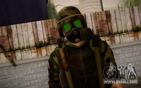 Hecu Soldier 3 from Half-Life 2 for GTA San Andreas third screenshot