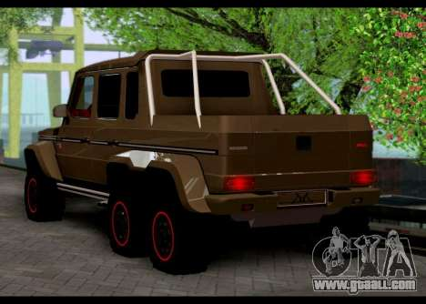 BRABUS 700 - Mercedes-Benz G63 AMG 6x6 for GTA San Andreas left view