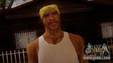 Fresno Buldogs 14 Skin 2 for GTA San Andreas third screenshot