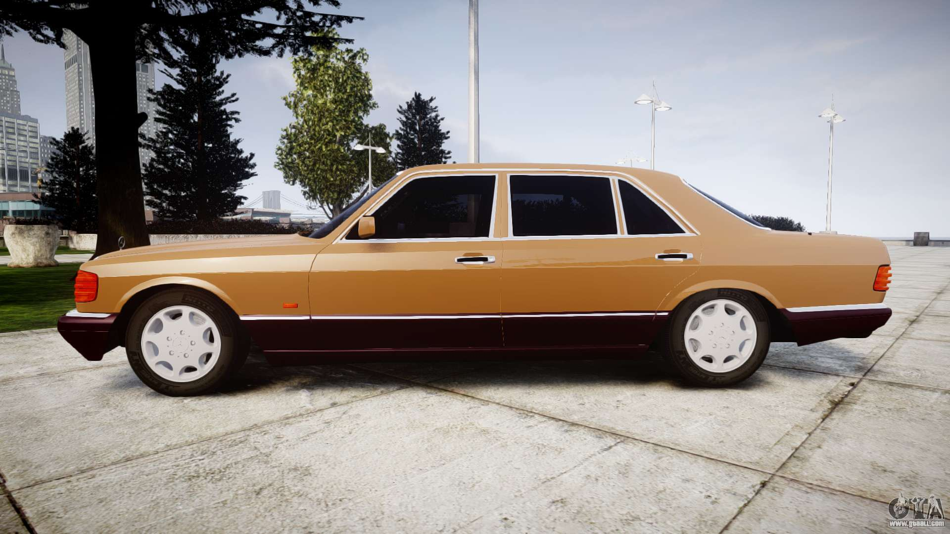 Mercedes benz 560sel w126 for gta 4 for Mercedes benz 560sel