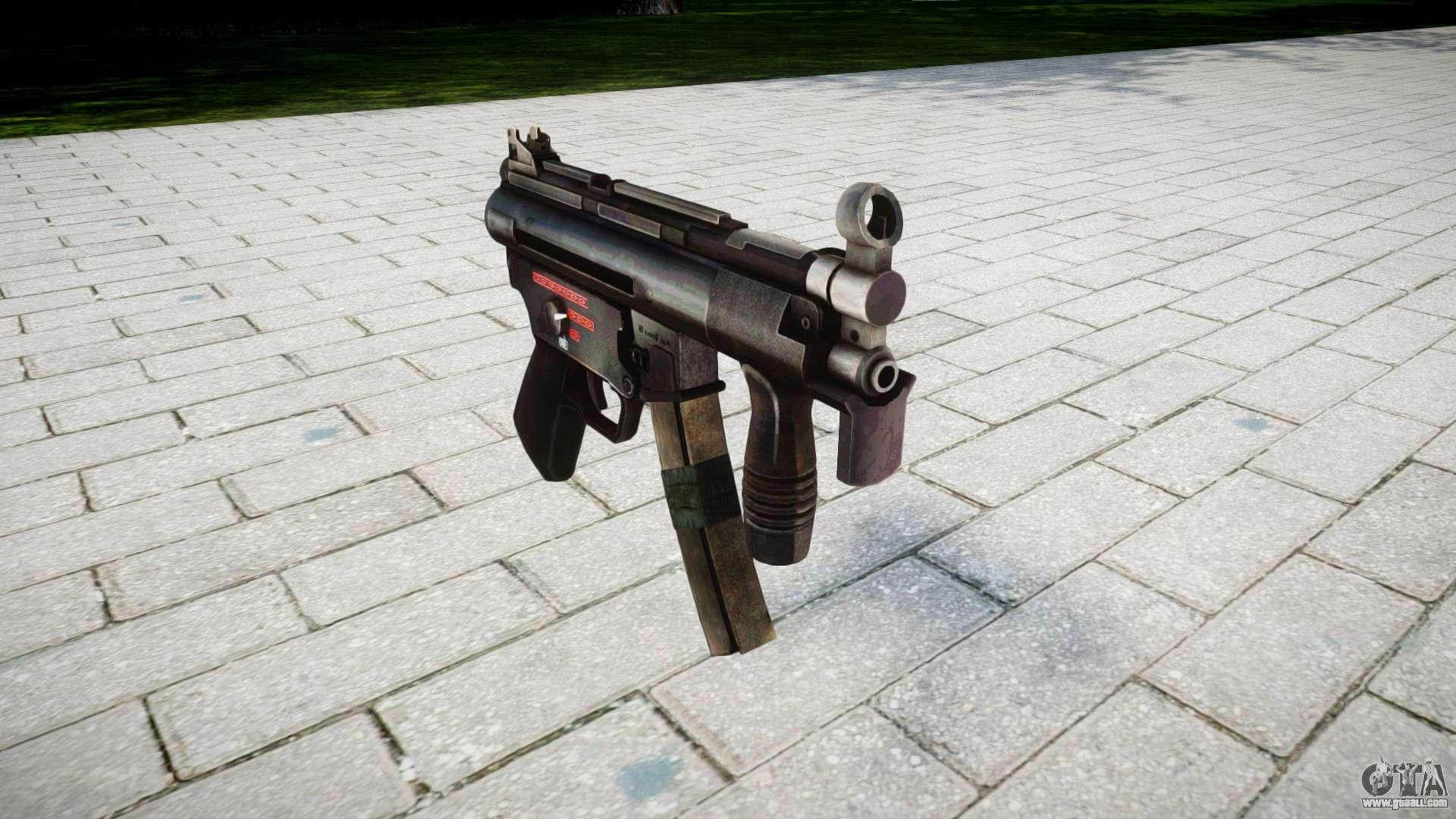 Molotov Cocktail Gun MP5K for GTA 4