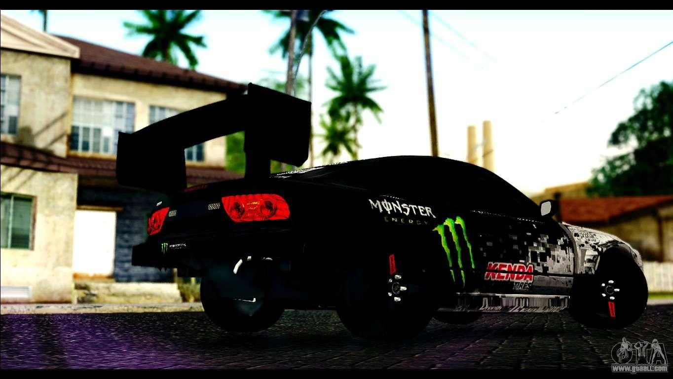 Nissan 180sx Monster Energy Spoiler For Gta San Andreas