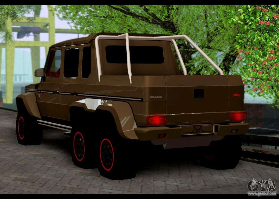 brabus 700 mercedes benz g63 amg 6x6 for gta san andreas. Black Bedroom Furniture Sets. Home Design Ideas