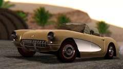 Chevrolet Corvette C1 1962 Dirt for GTA San Andreas