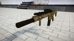 Assault rifle AAC Honey Badger [Remake] tar