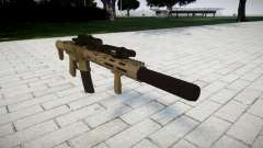 Assault rifle AAC Honey Badger [Remake]