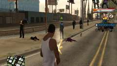 C-HUD Ghetto Live for GTA San Andreas