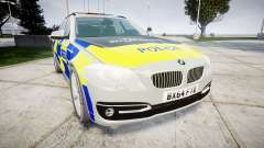 BMW 525d F11 2014 Police [ELS] for GTA 4