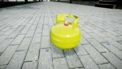 Pomegranate-Gas cylinder-