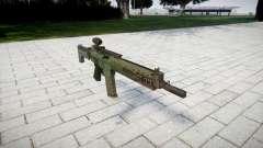Automatic rifle target Ak5C