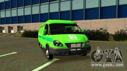 GAZelle 2705 PrivatBank for GTA San Andreas