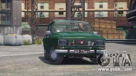 AZLK 2140 for GTA 4