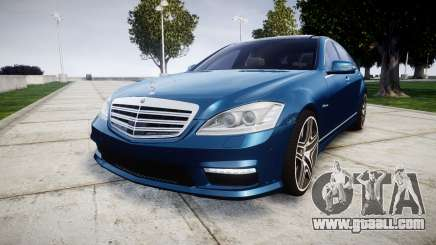 Mercedes-Benz S65 W221 AMG v2.0 rims2 for GTA 4