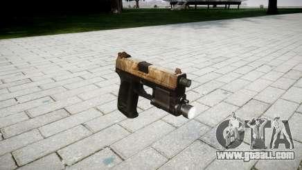 Gun HK USP 45 dusty for GTA 4