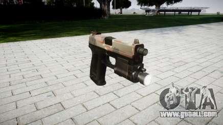Gun HK USP 45 berlin for GTA 4