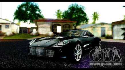 Aston Martin One-77 Beige Black for GTA San Andreas
