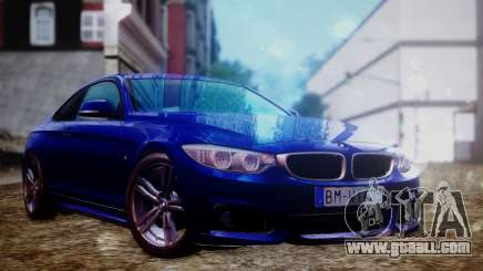 BMW 435i for GTA San Andreas