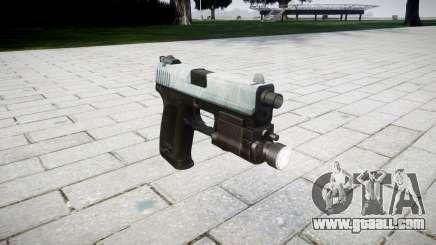 Gun HK USP 45 icy for GTA 4