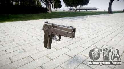 Pistol SIG-Sauer P226 for GTA 4