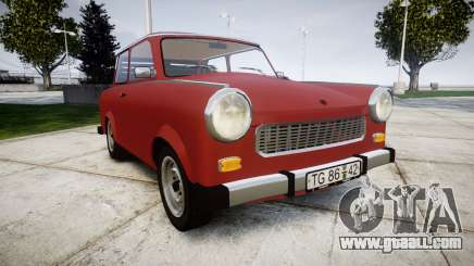 Trabant 601 deluxe 1981 for GTA 4