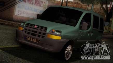 Fiat Doblo 2005 for GTA San Andreas