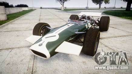 Lotus Type 49 1967 [RIV] PJ1-2 for GTA 4