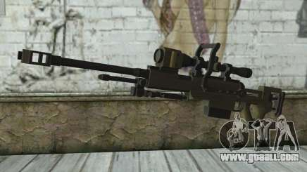 Piers Nivans Rifle from Resident Evil 6 for GTA San Andreas