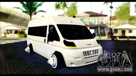 The School Vehicle Fiat Ducato for GTA San Andreas