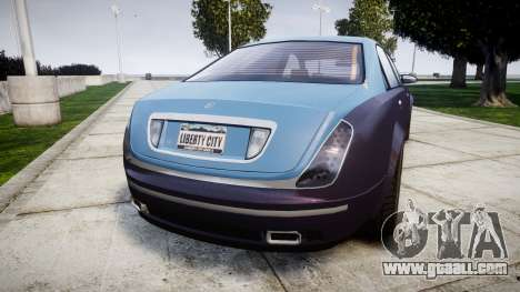 Enus Cognoscenti VIP for GTA 4 back left view