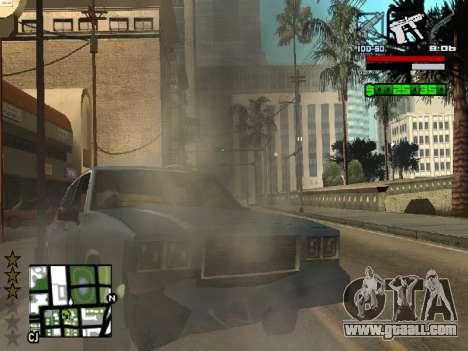Nice C-HUD for GTA San Andreas forth screenshot