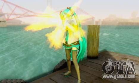 Hatsune Miku Dreamy Theater for GTA San Andreas third screenshot