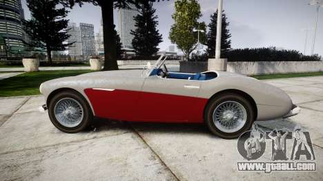 Austin-Healey 100 1959 for GTA 4 left view
