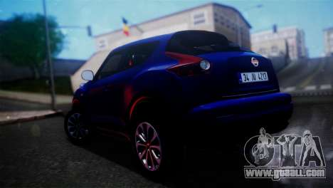 Nissan Juke 2012 for GTA San Andreas left view