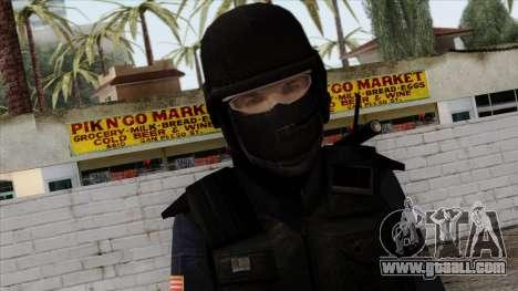 Police Skin 12 for GTA San Andreas third screenshot